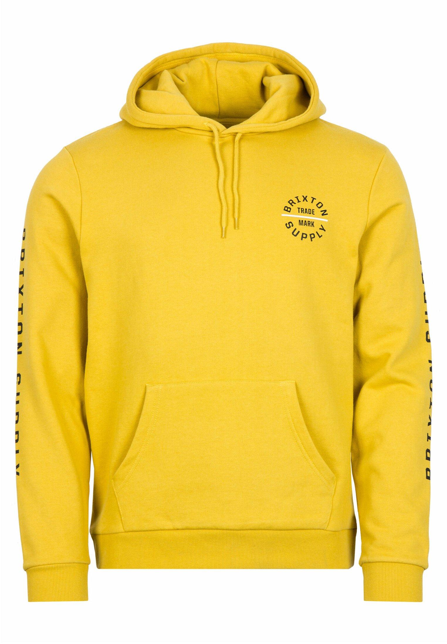 Brixton Oath Vi Hood - Kapuzenpullover Sunset Yellow