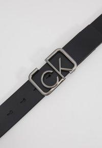 Calvin Klein - SIGNATURE BELT - Pásek - black - 4