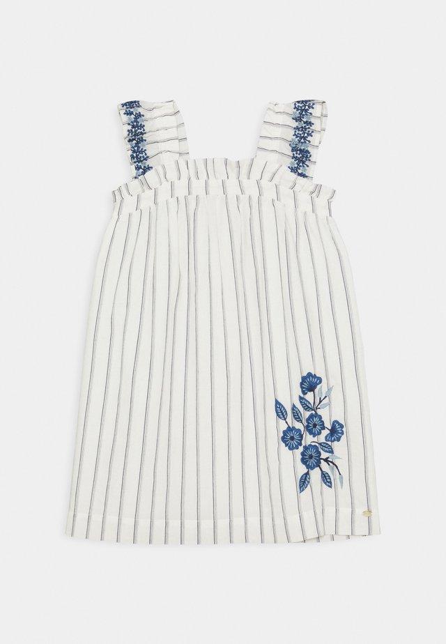 CHASUBLEA - Jersey dress - bleu