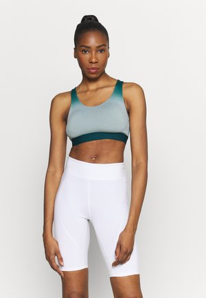 Light support sports bra - teal