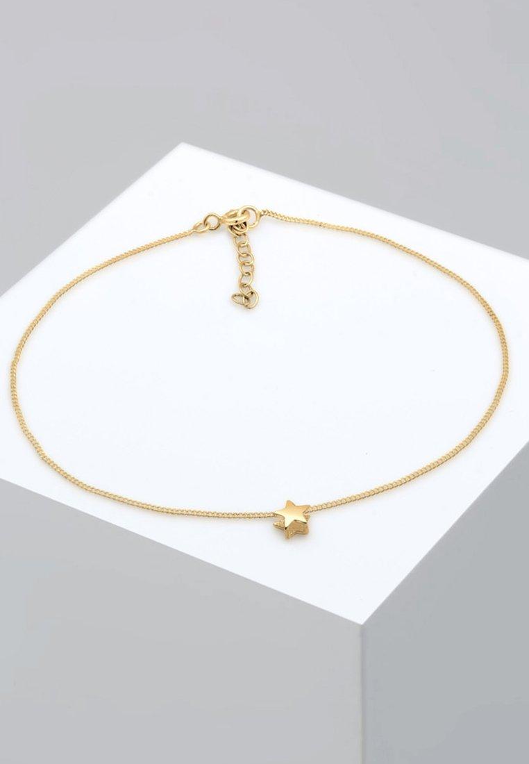 Elli - FUSSSCHMUCK STERN ASTRO BASIC - Bracelet - gold-coloured