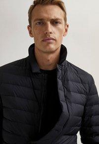 Massimo Dutti - Winter jacket - blue-black denim - 3
