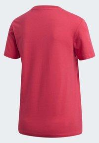 adidas Originals - TREFOIL T-SHIRT - Print T-shirt - pink - 9