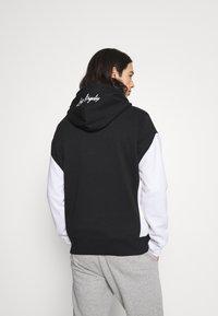 Hollister Co. - MOTO CHASE - Sweatshirt - black - 2