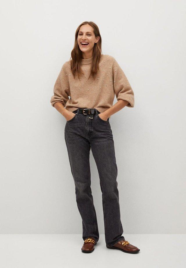 RAINY - Sweter - lyst/pastell grå