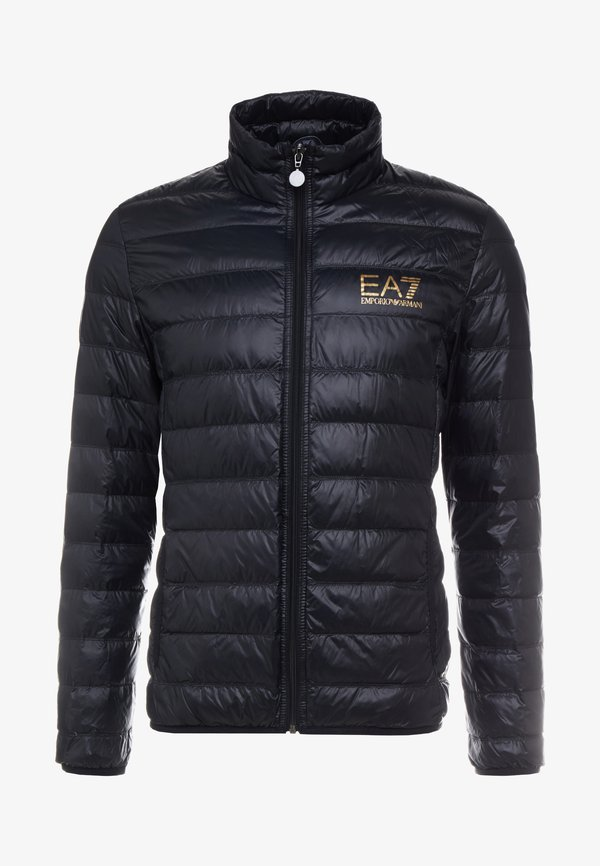 EA7 Emporio Armani Kurtka puchowa - giacca piumino/czarny Odzież Męska MGGD