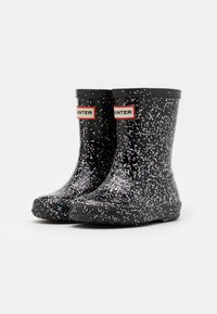 Hunter ORIGINAL - KIDS FIRST CLASSIC GIANT GLITTER - Holínky - black - 1