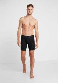 Puma - ACTIVE LONG BOXER PACKED - Panties - black/red - 1