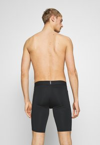 Nike Performance - SHORT LONG - Trikoot - black - 3