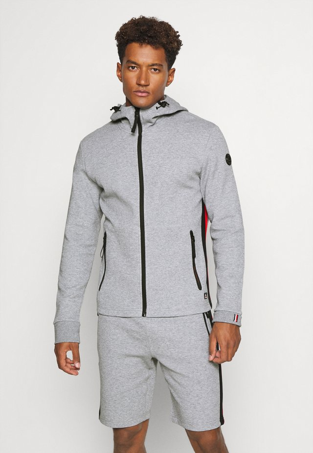 KANTOLA - Zip-up hoodie - light grey