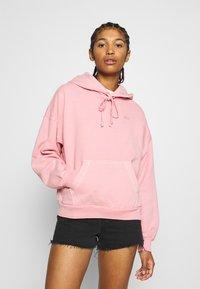 HOODIE - Jersey con capucha - blush garment