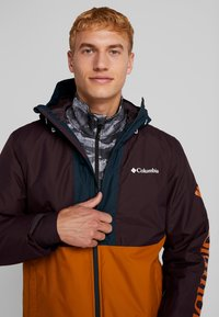 Columbia - TIMBERTURNER JACKET - Snowboardjacke - burnished amber/black cherry - 3
