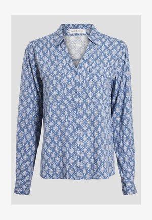 LANGARM - Overhemdblouse - bleu clair