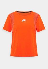 team orange/reflective silver