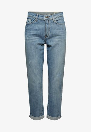 Relaxed fit jeans - blue light washed