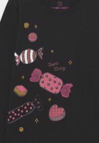 Lemon Beret - SMALL GIRLS - Long sleeved top - black - 2