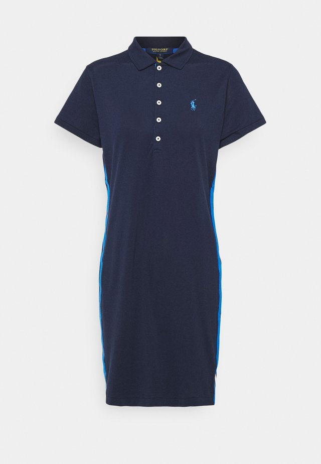 SHORT SLEEVE CASUAL DRESS - Sportovní šaty - french navy