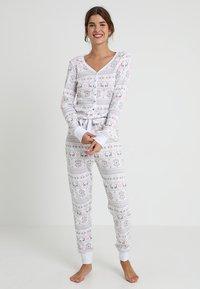 Even&Odd - Pyjamas - white/pink - 0