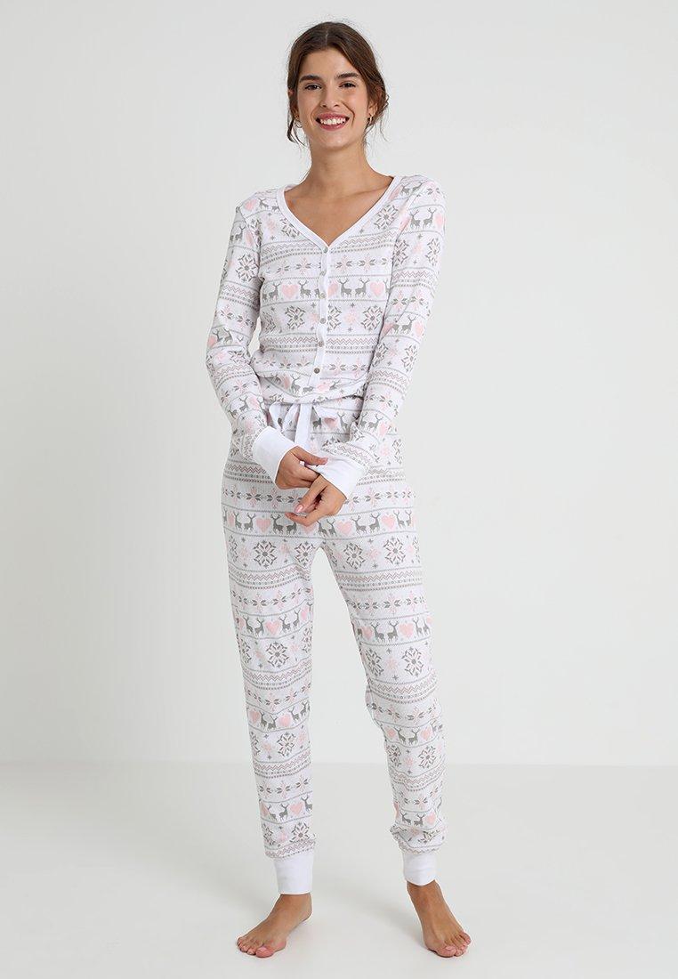 Even&Odd - Pyjamas - white/pink