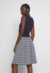 Anna Field - Jersey dress - white/maritime blue - 2