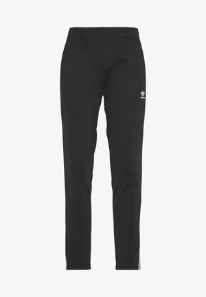PANTS - Spodnie treningowe - black/white