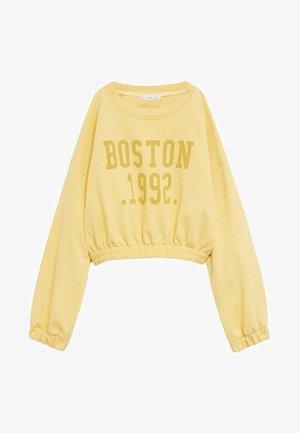 BOSTON - Sweater - žlutá