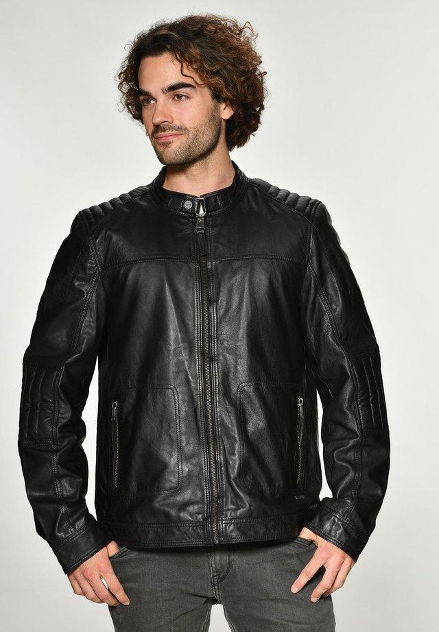 JACK - Leren jas - black