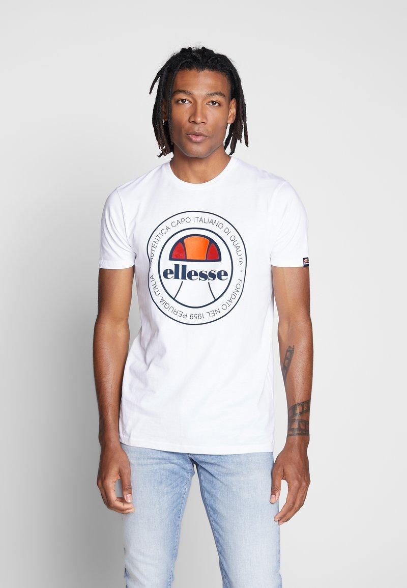 Ellesse - MONALDO - Printtipaita - white