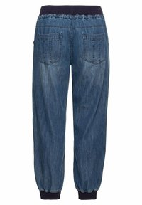 Sheego - Jeans Tapered Fit - blue denim - 5