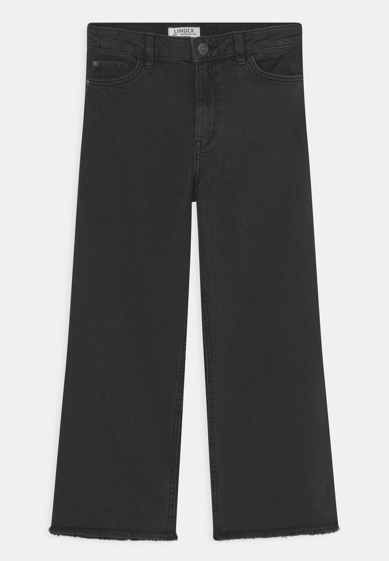 Lindex - LOTTE - Jeansy Relaxed Fit - black