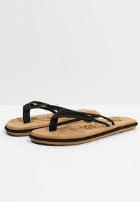 O'Neill - T-bar sandals - blackout  a - 1