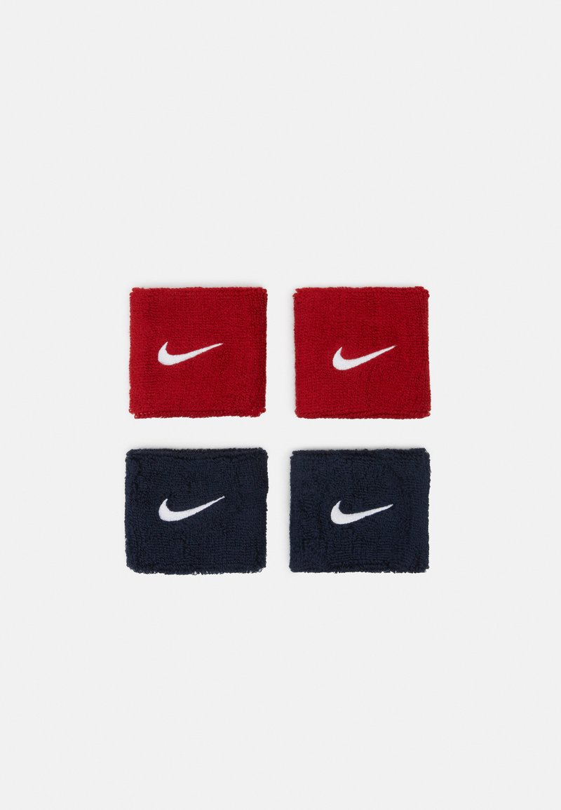Nike Performance - WRISTBANDS 4 PACK - Sweatband - habanero red/obsidian