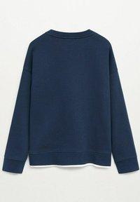 Mango - 2 PACK  - Sweatshirt - bleu marine foncé - 2