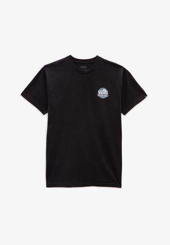 SIMPLE - T-shirt med print - black