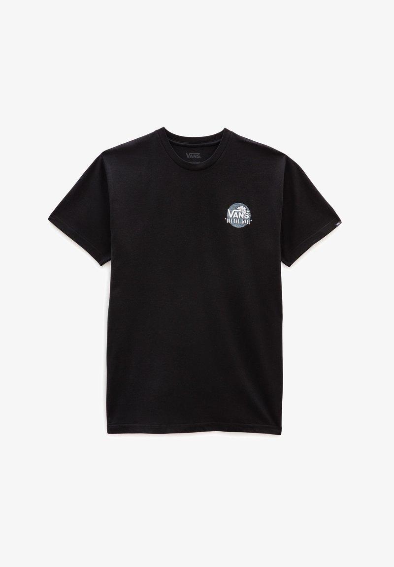 Vans - MN VANS OTW SIMPLE SS - Print T-shirt - black