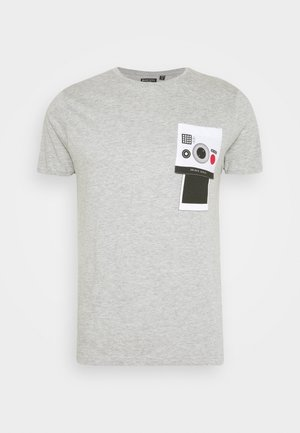 CLICK - Camiseta estampada - grey marl