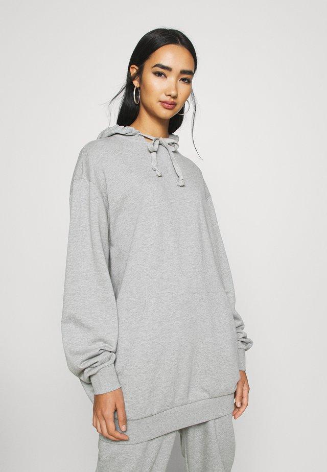 OVERSIZE HOODIE - Sweater - grey