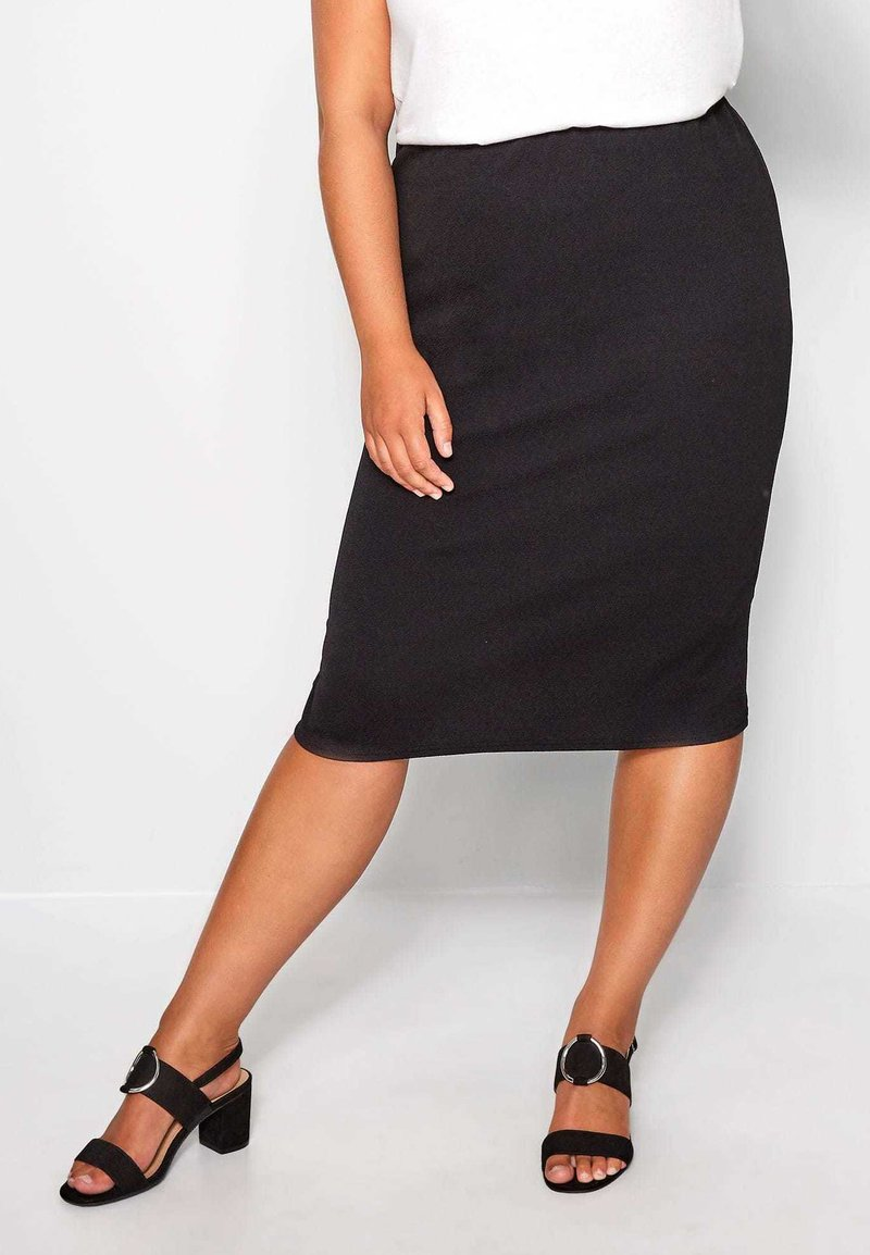 Yours Clothing - Pencil skirt - black