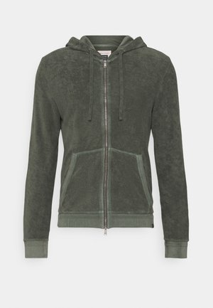 Zip-up hoodie - mangrove