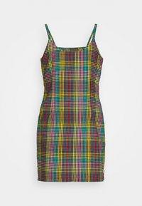 CHECK CAMI DRESS SIDE SEAM ZIPS - Day dress - multi check