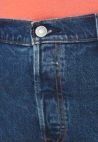 Levi's® Plus - 501® ORIGINAL SHORT - Denim shorts - charleston erosion - 4