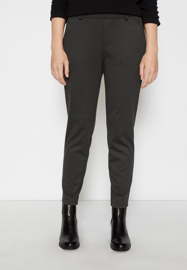 CONSTRUCTED PANTS - Chinos - shale grey melange