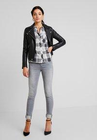 Mavi - ADRIANA - Jeans Skinny Fit - grey sporty - 1