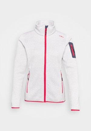 Fleece jacket - bone/bianco