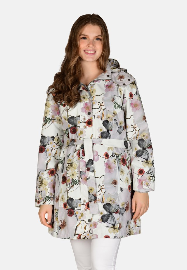 Waterproof jacket - multiflower