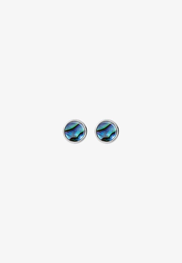 Boucles d'oreilles - violet/turquoise/green