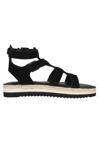 Sansibar Shoes - Sandalen met plateauzool - schwarz - 3