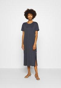 Marc O'Polo DENIM - DRESS SHORT SLEEVE - Jersey dress - scandinavian blue - 0