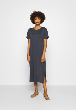 DRESS SHORT SLEEVE - Jersey dress - scandinavian blue