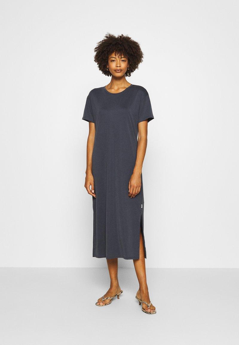 Marc O'Polo DENIM - DRESS SHORT SLEEVE - Jersey dress - scandinavian blue